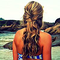 Huile de ricin cheveux longs