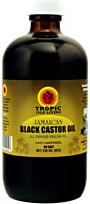 bouteille de Jamaican Black Castor Oil Tropic Isle Living