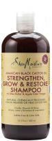 bouteille de shampoing à l'huile de ricin Shea Moisture